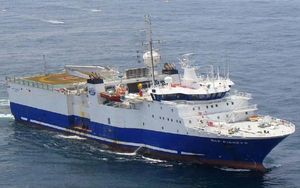 EMSSV - Electromagnetic seismic survey vessel